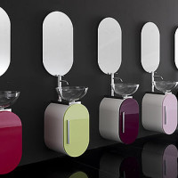 Lasa Flux Bathroom Furniture Set-003