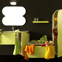 Lasa Flux Bathroom Furniture Set-004