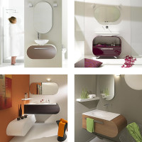Lasa Flux Bathroom Furniture Set-005