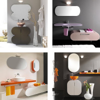 Lasa Flux Bathroom Furniture Set-006