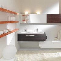 Lasa Flux Bathroom Furniture Set-007
