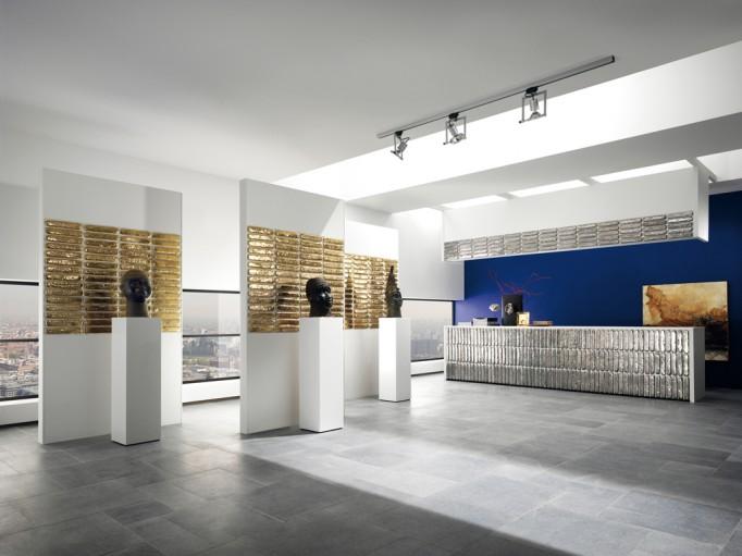 Hand Glazed Jewel Tiles by Lafabbrica - 02