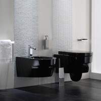 Ext Black and White Bathrooms - 4