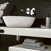Black and White Bathrooms by Ex.t
