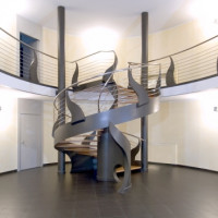 Extravagant Staircase by Bonansea Scale