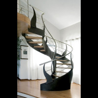 Extravagant Staircase by Bonansea Scale - 03