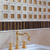Gold Accent Tiles by Cottoveneto - 04