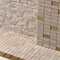 Gold Accent Tiles by Cottoveneto - 05