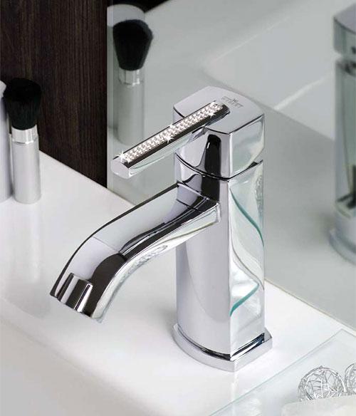 azeta crystal bath faucet webert 01