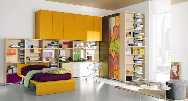 Teen Bedroom Design Ideas by Nardi Interni - 01