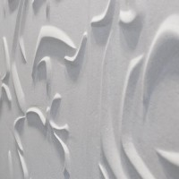 curve 3d tile in white polished phoenix