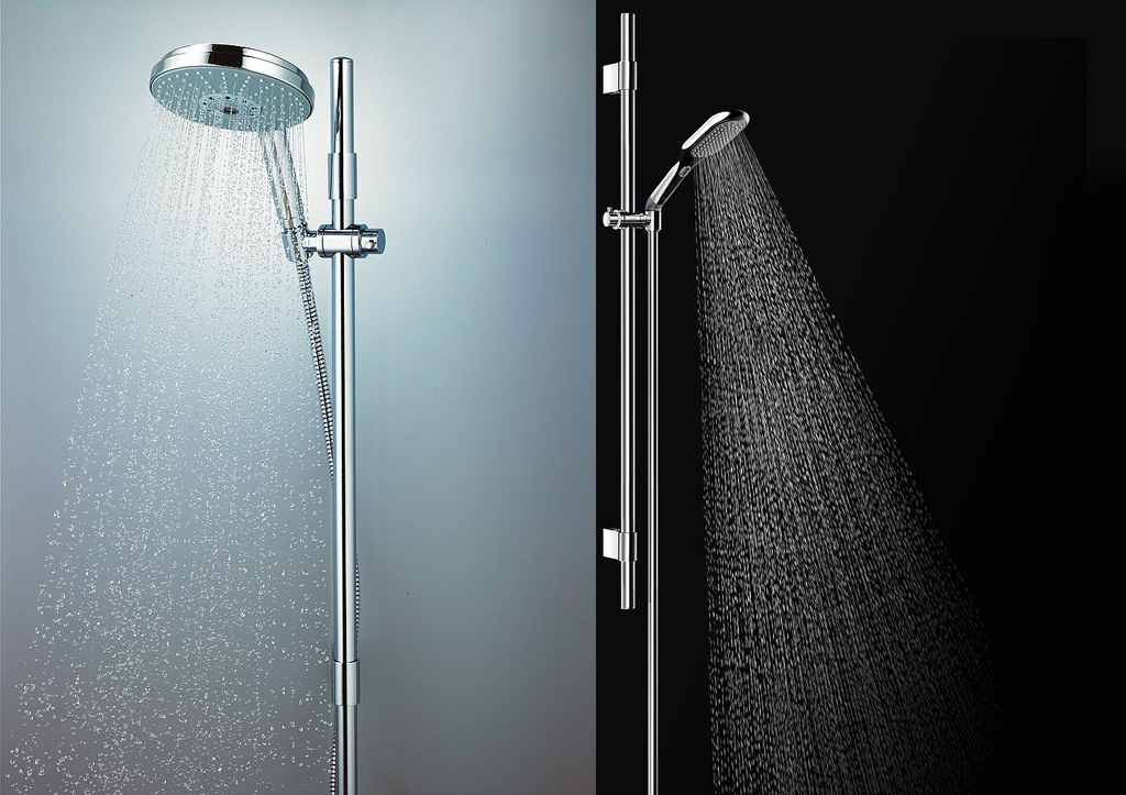 grohe rainshower icon showerhead. Black Bedroom Furniture Sets. Home Design Ideas