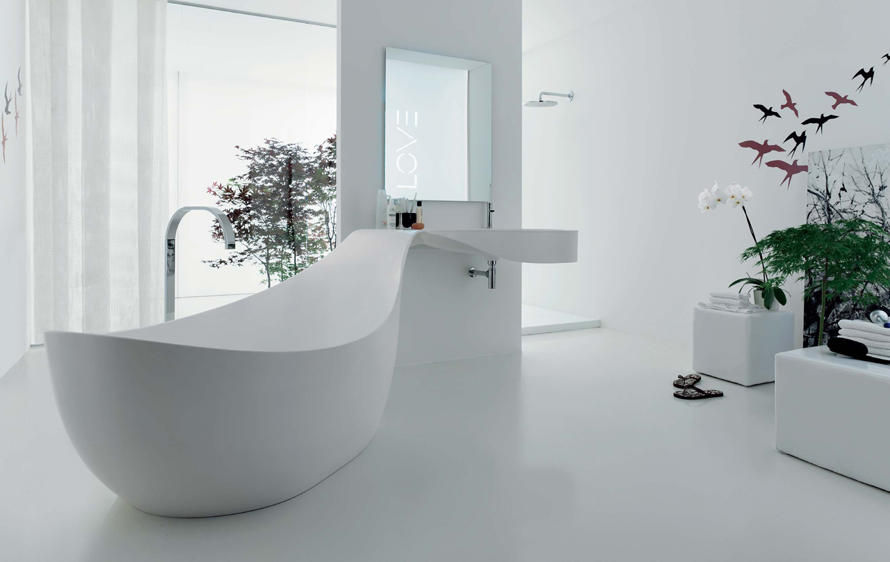 Remarkable White Bathroom Design 1280 x 808 · 357 kB · jpeg