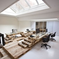 Pallet Project for Office by MOST Architecture