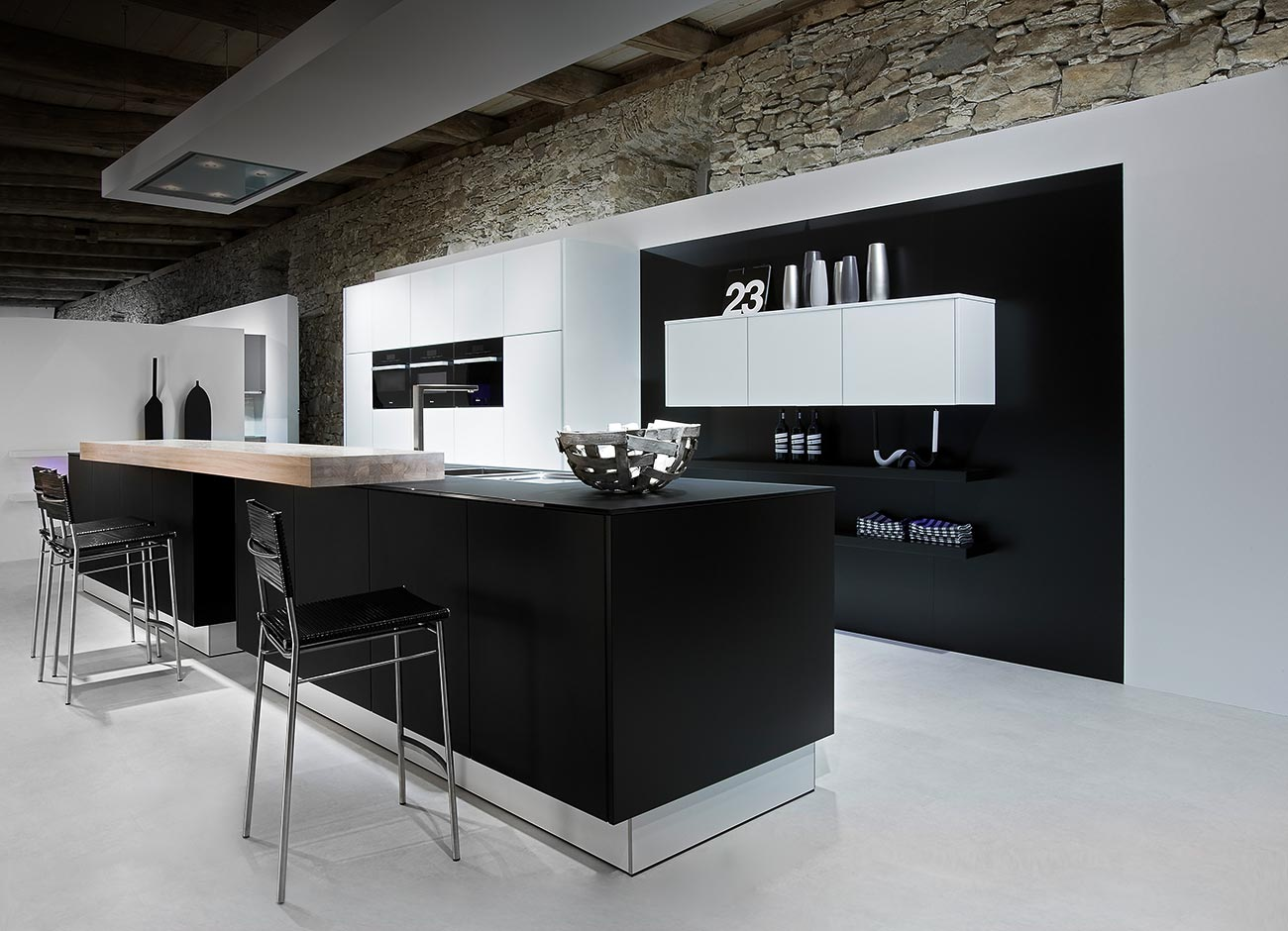 Graphic architecture kitchen design for Architectural design kitchens