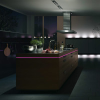 Kitchen Design with Mood Lighting