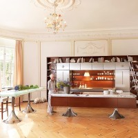 Library Style Kitchen Design