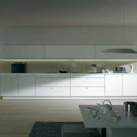Pure White Modern Kitchen Design