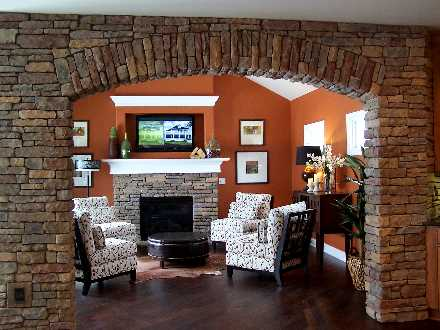 Schumacher Homes Custom Fireplaces