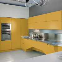 Mesh Futuristic Kitchen Design Florida-6