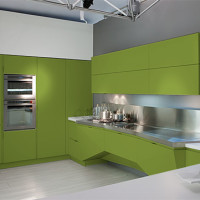 Mesh Futuristic Kitchen Design Florida-7