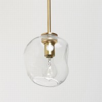 Suspended Lighting Bubble Pendent Single