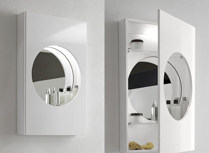 bathroom illuminated mirror cabinet by hastings bath accessories
