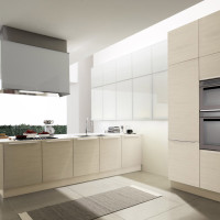 Alineal Cream Kitchen Design - Euromobil