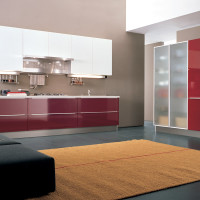 Alineal Kitchen Design with Rug- Euromobil