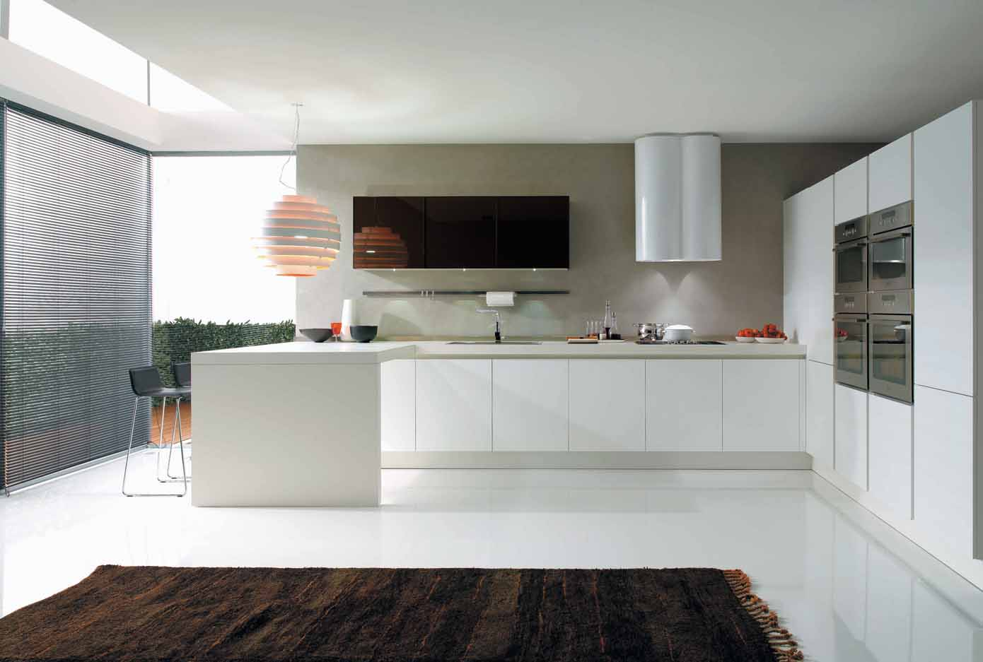Filo vanity top kitchen design euromobil for Popular kitchen designs