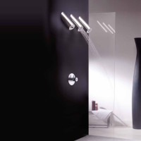 Three Showerhead Shower by Frattini