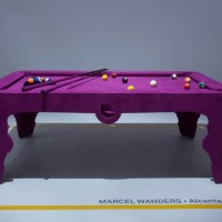 Show Stopping Pink Pool Table by Marcel Wanders
