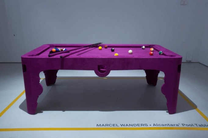 alcantara marcel wanders pink pool table
