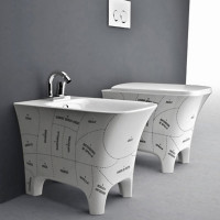 Peppy Bathroom Fixture Collection By Artceram