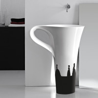 Modern & Sleek Bathroom Basin Cup By Artceram