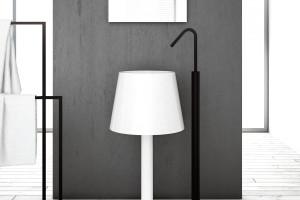 lamp shaped washbasin light artceram-1