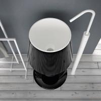 lamp shaped washbasin light artceram-2