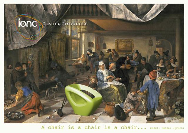 polyethylene seaser chair lonc-3