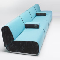 Sectional Sofa By Patrick Norguet – A Spectacular Seating Arrangement