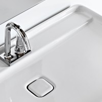 Unique Contemporary Style Skinny Bathroom Sink By Artceram