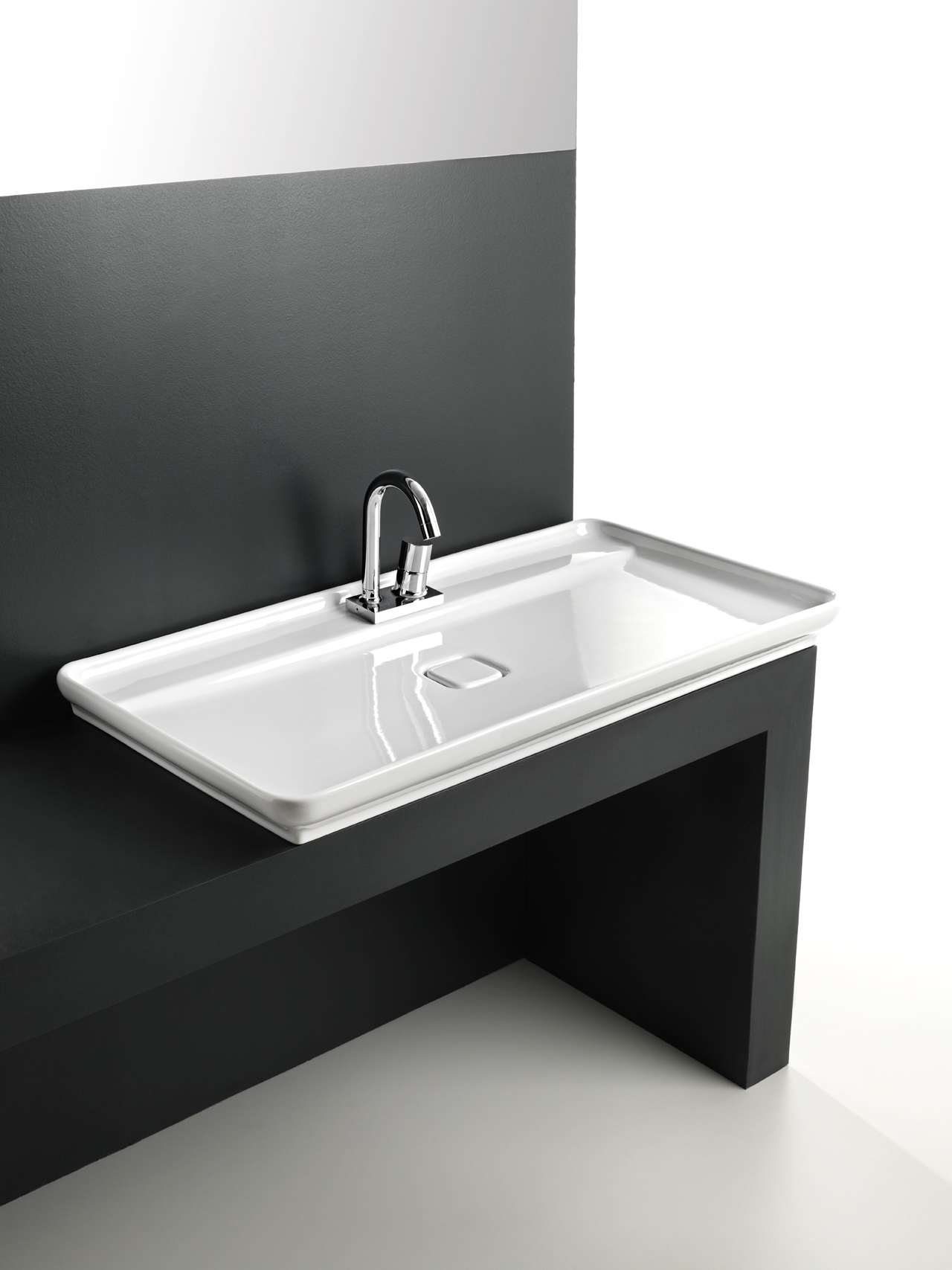 ... Style Skinny Bathroom Sink By Artceram ? skinny bathroom sink