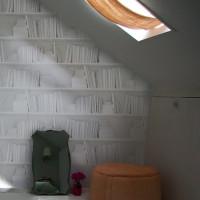 white bookshelf wallpaper mineheart