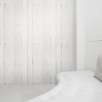 white planks wallpaper mineheart