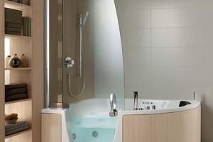corner whirlpool shower combo teuco-1