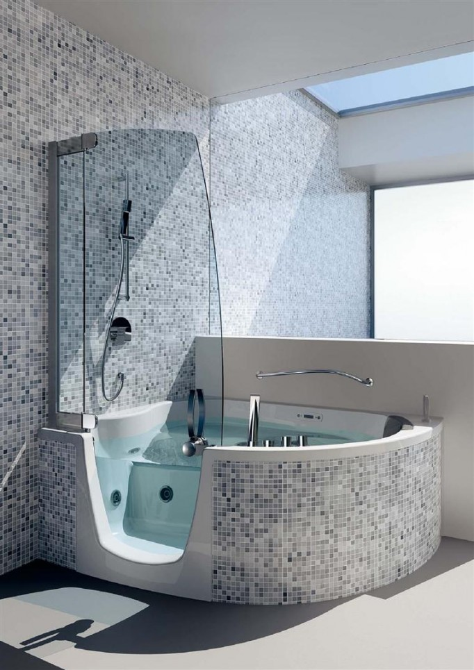 corner whirlpool shower combo teuco-3