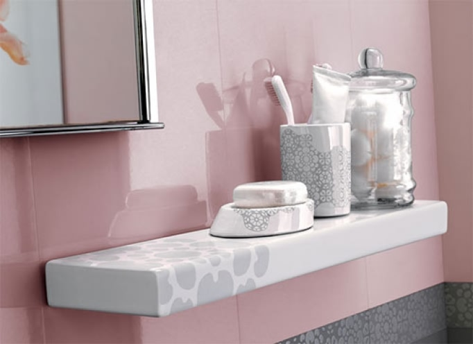 Modern ceramic bathroom accessories by fap ceramiche for New bathroom accessories