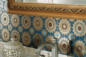 turquoise ceramic tile ceramica lord-1