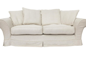 Alston in Alston Linen 2 Seater sofa