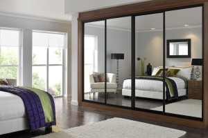 mirrored sliding wardrobes