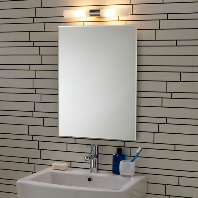 How to make the most of your small bathroom bathroom designs for Bathroom lights above mirror